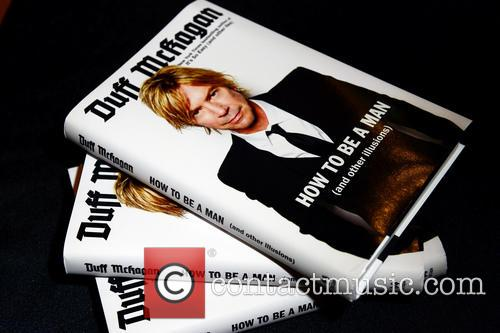 Guns N' Roses, View Of Books On Display and Duff Mckagan