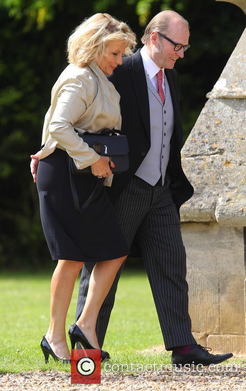 Jennifer Saunders and Adrian Edmondson