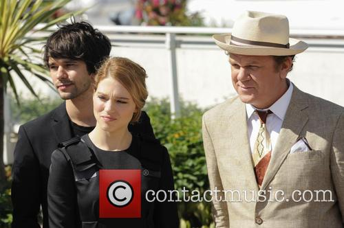 Ben Whishaw, Lea Seydoux and John C. Reilly