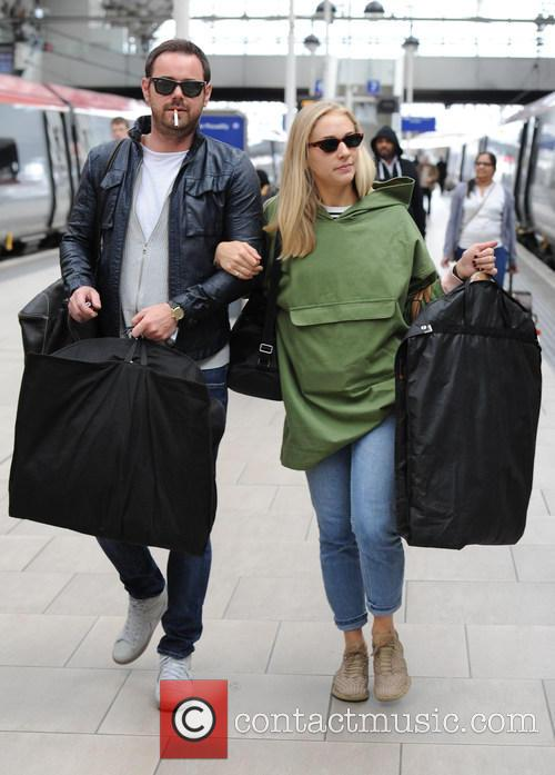 Maddy Hill and Danny Dyer
