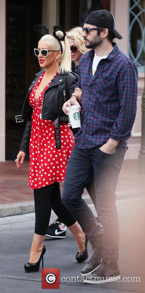 Christina Aguilera and Matthew Rutler 6