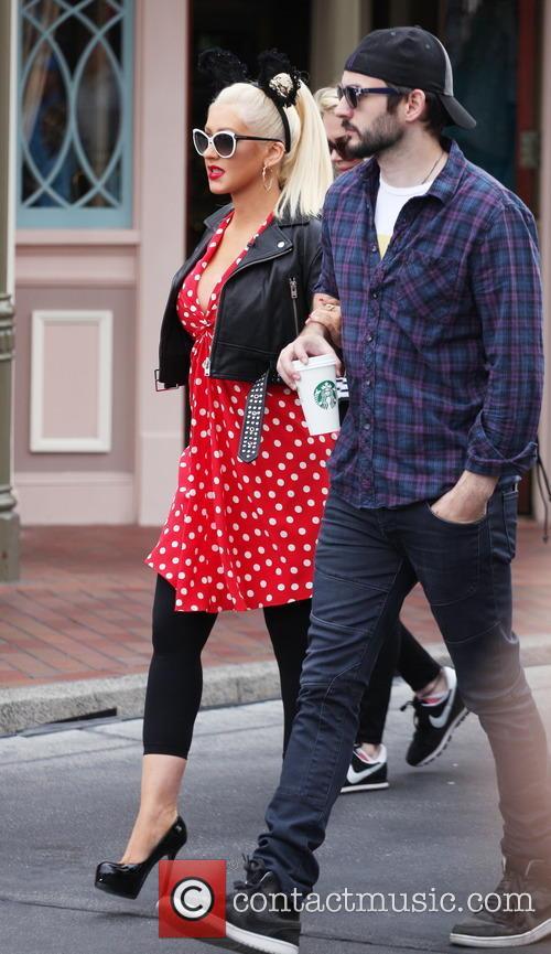 Christina Aguilera and Matthew Rutler 7