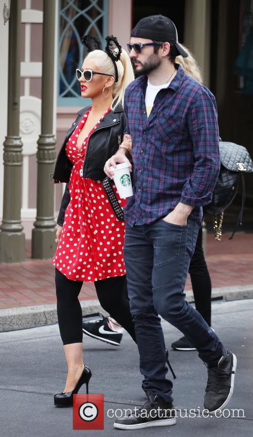 Christina Aguilera and Matthew Rutler 8