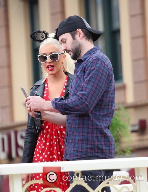 Christina Aguilera and Matthew Rutler 1
