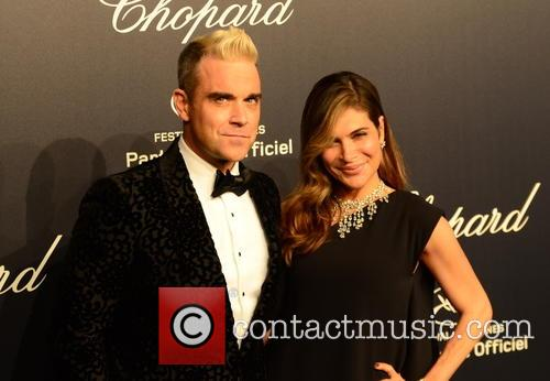 Robbie Williams and Ayda Field 1