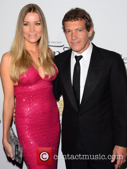 Antonio Banderas and Guest