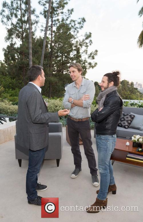 Adam Lilling, Dax Shepard and Andrew Panay