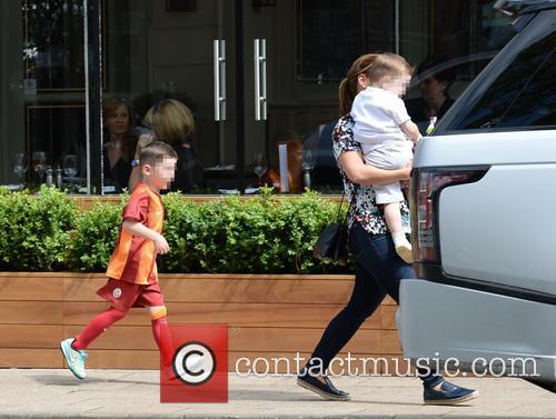 Coleen Rooney, Klay Rooney and Kai Rooney 10