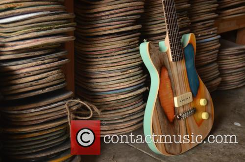 Guitars Made Out Of and Old Skateboards 1