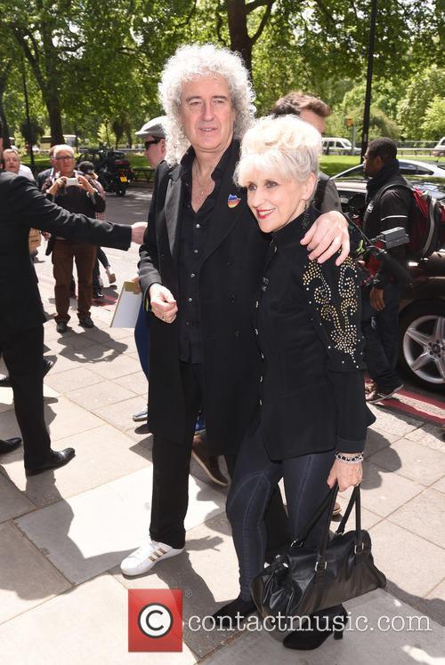 Brian May and Anita Dobson 3
