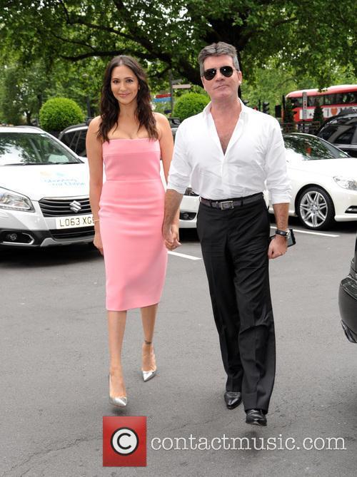 Lauren Silverman and Simon Cowell 1