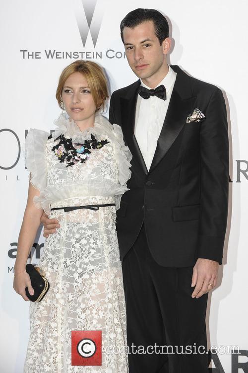 Mark Ronson and Joséphine De La Baume