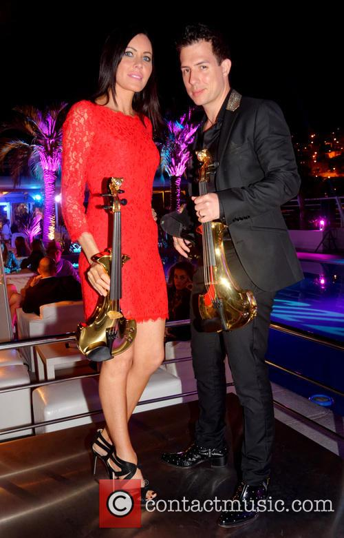 Linzi Stoppard and Ben Lee