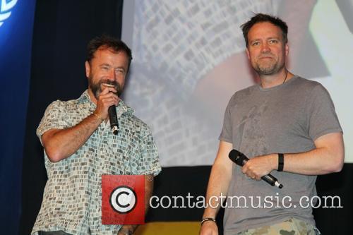 David Nykl and David Hewlett