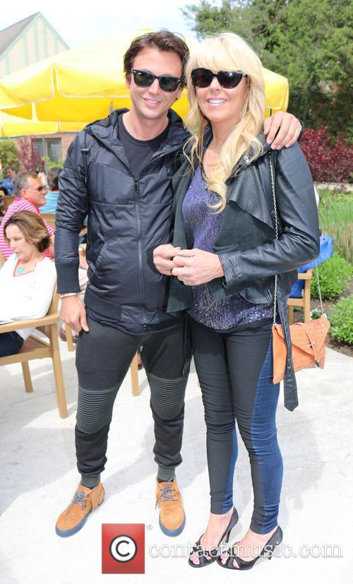 Jonathan Cheban and Dina Lohan
