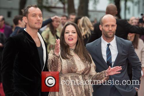 Jude Law, Melissa Mccarthy and Jason Statham 3