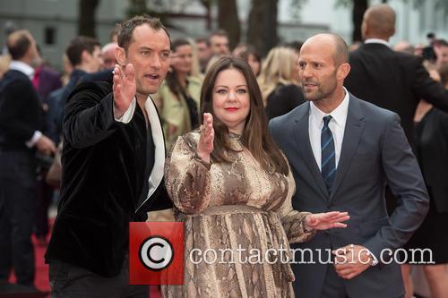 Jude Law, Melissa Mccarthy and Jason Statham 4