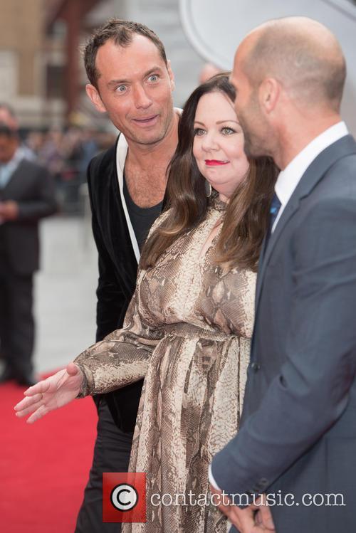 Jude Law, Melissa Mccarthy and Jason Statham 9