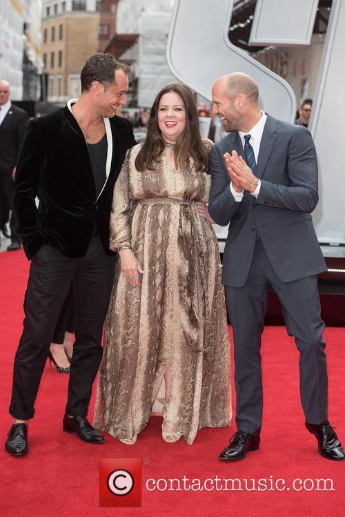 Jude Law, Melissa Mccarthy and Jason Statham 11