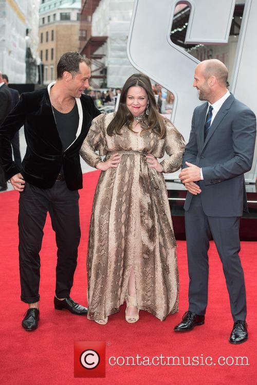Jude Law, Melissa Mccarthy and Jason Statham 1