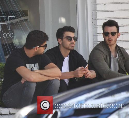 Joe Jonas and Kevin Jonas