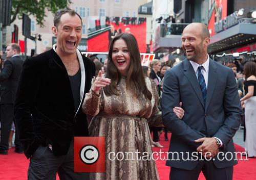 Jude Law, Melissa Mccarthy and Jason Statham 5