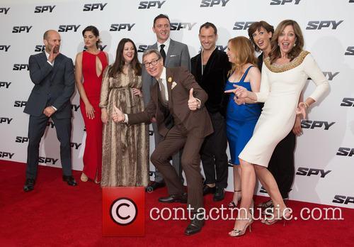 Jason Statham, Nargis Fakhri, Melissa Mccarthy, Peter Serafinowicz, Paul Feig, Jude Law, Jessica Chaffin, Miranda Hart and Allison Janney