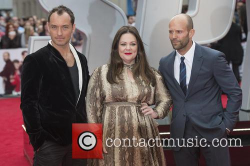 Jude Law, Melissa Mccarthy and Jason Statham