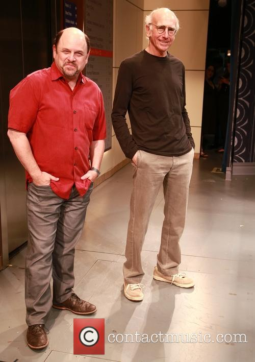 Jason Alexander and Larry David 7