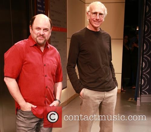 Jason Alexander and Larry David 8