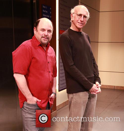 Jason Alexander and Larry David 9