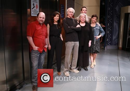 Jason Alexander, Rosie Perez, Larry David, Jayne Houdyshell, Ben Shenkman and Anna D. Shapiro 10