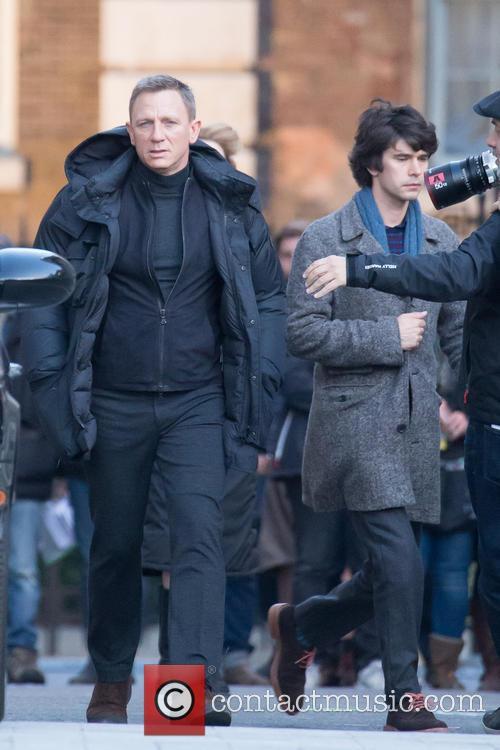 Daniel Craig and Ben Whishaw 3