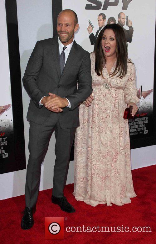 Jason Statham and Melissa Mccarthy 5