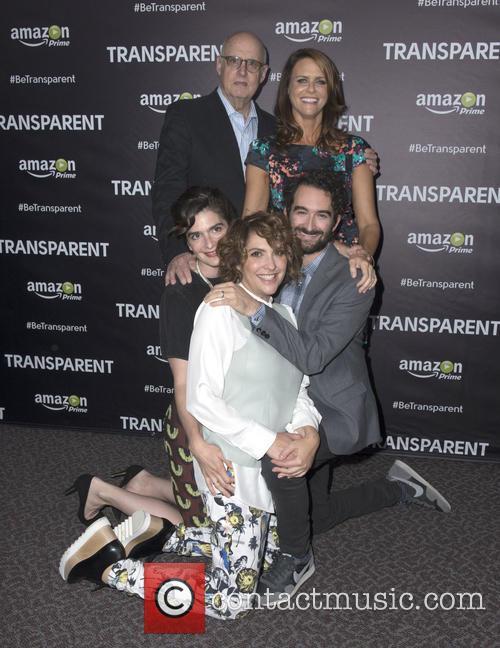 Jeffrey Tambor, Amy Landecker, Gaby Hoffmann, Jay Duplass and Jill Soloway