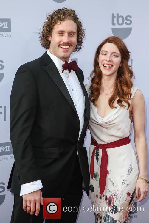 T.j. Miller and Kate Gorney 3