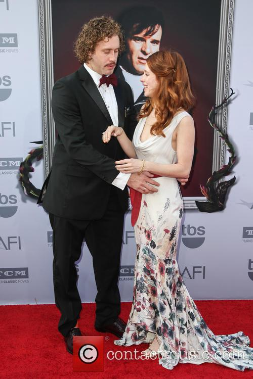 T.j. Miller and Kate Gorney 4