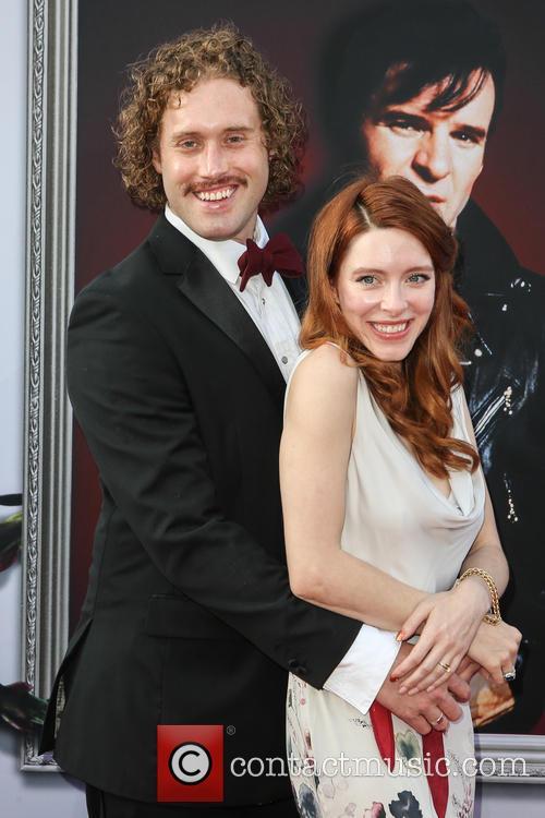 T.j. Miller and Kate Gorney 6