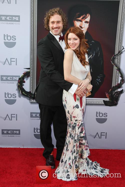 T.j. Miller and Kate Gorney 7