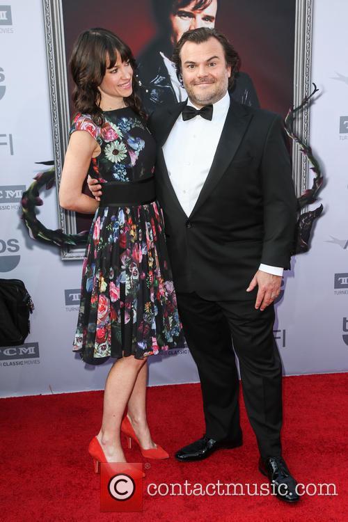 Tanya Haden and Jack Black