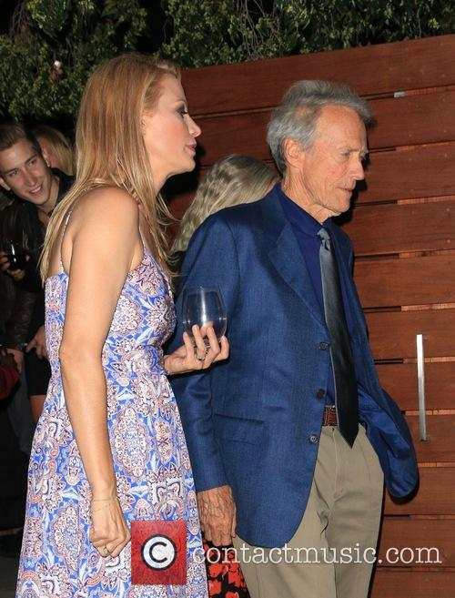 Alison Eastwood and Clint Eastwood 3