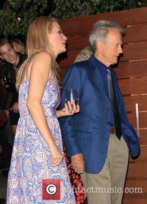 Alison Eastwood and Clint Eastwood 4
