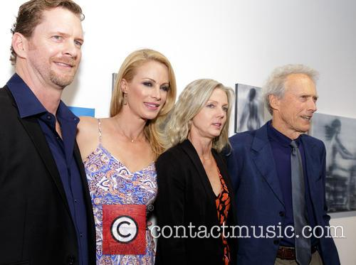 Stacy Poitras, Alison Eastwood, Christina Sandera and Clint Eastwood