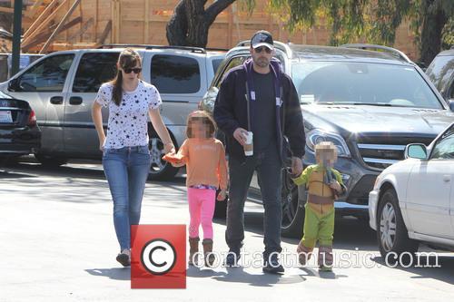 Ben Affleck, Jennifer Garner, Seraphina Affleck and Samuel Affleck 2