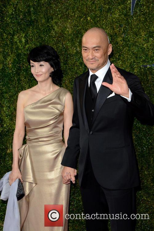 Kaho Minami and Ken Watanabe