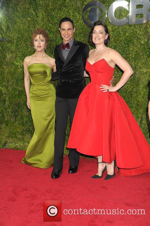 Bernadette Peters, Zac Posen and Laura Michelle Kelly