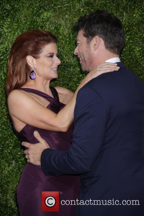 Harry Connick Jr and Debra Messing 2