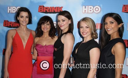 Jaimie Alexander, Carla Gugino, Maribeth Monroe, Mary Faber and Melanie Kannokada 4