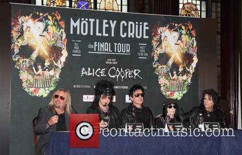 Motley Crue and Alice Cooper