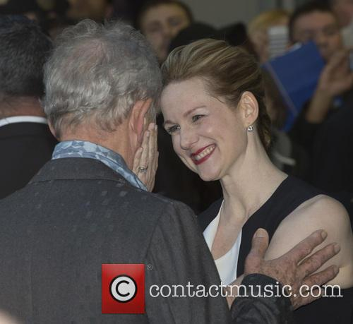 Sir Ian Mckellen and Laura Linney 4